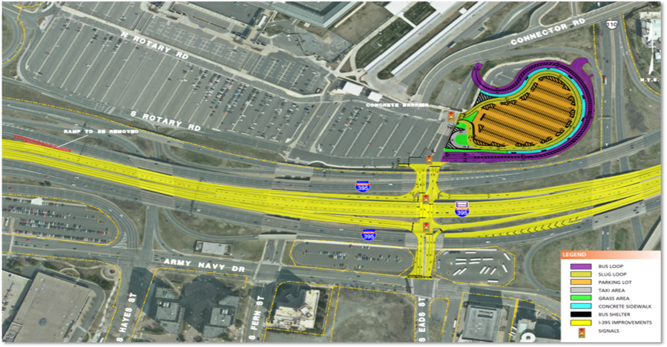 09621b207d4 The other side of the coin is that a substantial impact is likely to be  felt at the Eads Army-Navy interchange and in a much larger surrounding  area in ...