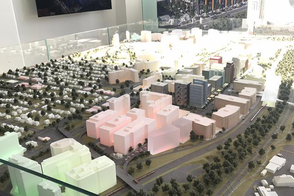Model of Crystal City
