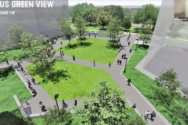 Potomac Yard park rendering